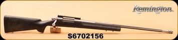 "Consign - Remington - 7mm RUM - Model 700 Sendero - H.S. Precision Aramid fiber reinforced composite stock/ 26"" Heavy Fluted Stainless Steel barrel, dual front swivel stud system, c/w Nightforce rail"