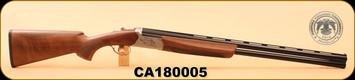 "Huglu - Ventus - 12Ga/3""/28"", O/U, Turkish Walnut/Bl/Bronze Receiver, 5 LI VENTUS Mobile Shock Set,  M.Choke, s/n CA180005"