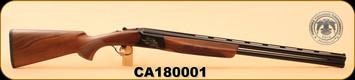 "Huglu - Ventus - 12Ga/3""/28"", O/U, Turkish Walnut/Bl/Bronze Receiver, 5 LI VENTUS Mobile Shock Set,  M.Choke, s/n CA180008"
