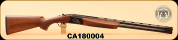 "Huglu - Ventus - 12Ga/3""/28"", O/U, Turkish Walnut/Bl/Bronze Receiver, 5 LI VENTUS Mobile Shock Set,  M.Choke, s/n CA180004"