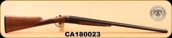 """Huglu - 200A - 12Ga/3""""/28"""", Turkish Walnut/Bl/Case Coloured Receiver, M.Choke, S/N CA180023"""