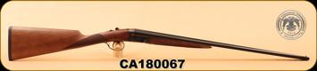 """Huglu - 200A - 410/3""""/26"""" - Wd/Bl, Case Coloured Receiver, STD Choke, S/N CA180067"""