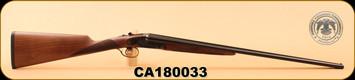 """Huglu - 200AC - 12Ga/3""""/28"""", Turkish Walnut/Bl/Case Coloured Receiver, M.Choke, S/N CA180033"""