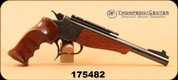"Consign - Thompson Center - 222Rem - Contender - Wd/Bl, 10"" Bull Barrel"