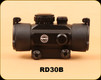 Consign - Hawke - Red Dot 1X30 - 5 MOA Dot (Red & Green illumination), 9-11MM Rail