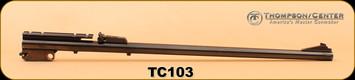 """Consign - Thompson Center - 35Rem - Contender - Blued, 21"""" barrel only"""