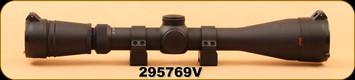 Consign - Redfield - Revolution - 4-12x40 - Accu-Range Reticle, c/w QRW Rings