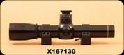 Consign - Leupold - M8 - 2x20mm - Duplex - Extended E.R. Handgun Scope, c/w QRW Rings