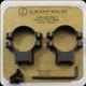 "Leupold - Ringmounts - 1"" LOW - QRW2  - Matte 174065"
