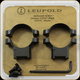 Leupold - Ringmounts - 30 mm High - PRW2  - Matte 174085