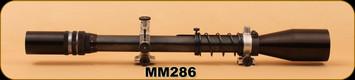 Consign - Unertl - 9X-44mm - BV-20 Supergrade - Target Dot Reticle