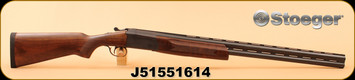 "Consign - Stoeger - 12Ga/3""/30"" - Condor Longfowler - O/U, A-grade walnut stock/Blued vent-rib barrel, c/w Owners manual, improved cylinder and modified extended choke tubes"