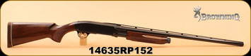 "Consign - Browning - 12Ga/3""/28"" - BPS Field Model - Wd/Bl, Ventilated Rib, M Choke, New in box"