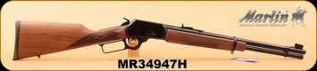 "Marlin - 357Magnum/38Special - Model 1894C - Lever-Action Rifle, Black Walnut Stock/Blued, 18.5"" deep-cut Ballard-type rifled barrel, 9 Round tubular magazine"