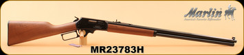 "Marlin - 45-70Govt - 1895CB - Cowboy Lever Action Rifle - Walnut Stock/Blued, 26"" tapered octagonal barrel, 9 Round tubular magazine"