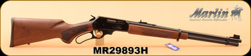 "Marlin - 30/30Win - 336C30 - Walnut Stock/Blued Finish, 20""Micro-Groove barrel, Adjustable Semi-Buckhorn Sights, S/N MR29893H"