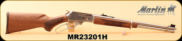 "Marlin - 30-30Win - 336SS - Lever-Action Rifle, American Black Walnut/SS, 20"" Micro-Grooved Barrel, 6 Round Tubular Magazine, S/N MR23201H"