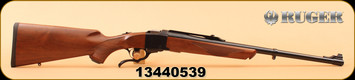 "Ruger - 9.3x62Mauser - Number 1 Medium Sporter -  American Walnut Stock/Alloy Steel Blued 22"" Barrel, Adjustable Rear Sight, Artillery style breechblock and under lever"