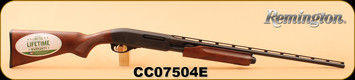 "Remington - 410/3""/25"" - Model 870 Express - Hardwood Stock/Matte Blued, Pump Action, Full Choke, Vent Rib, S/N CC07504E"
