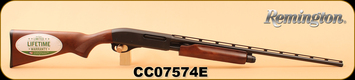"Remington - 410/3""/25"" - Model 870 Express - Hardwood Stock/Matte Blued, Pump Action, Full Choke, Vent Rib, S/N CC07574E"