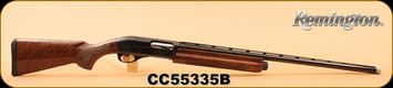 "Remington - 12Ga/2.75""/28"" - Model 1100 Sporting - Autoloading Shotgun, High gloss American walnut stock/BluedTarget Contour, Vent Rib Barrel, Twin Bead target sights, Gold plated trigger, 4 extended Rem choke tubes, S/N CC55335B"