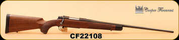 "Consign - Cooper - 6mmRem - Model 54 - AAA Claro Walnut/Chrome-Moly Premium Match Grade Wilson Arms Barrel, 24"", African Ebony Tip, in original box"