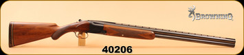 "Consign - Browning - 12Ga/2.75""/30"" - Superposed O/U - Wd/Bl, Full & Modified, made in Belgium (1955)"