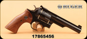 "Used - Ruger - 357Magnum - GP100 - Smooth Walnut/Blued, 5"", Half Lug Barrel/Fluted Cyl, In original case"
