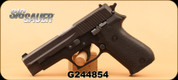 "Used - Sig Sauer - 9mm - P220 - Blk Grips/Hard Coat Anodized, 4.4"", Single stack, Hi-Vis sights, 2 mags, extra grips"