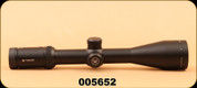 Used - Vortex Optics - 4-16x 50mm - Viper HS Rifle Scope - 30mm Tube, Side Focus, Dead-Hold BDC Reticle, Matte Black