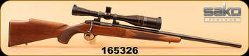 "Consign - Sako - 222 - A1 Hunter - Wd/Bl, 24"", c/w Leupold 10X-40, Duplex - Scope & Rifle can be sold separately"