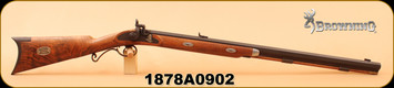 "Consign - Browning - 50Cal Black Powder - Jonathan Browning Centennial Mountain Rifle - Wd/Bl, 30"" Octagon Barrel - c/w custom-fit wooden case & all accessories - never fired"