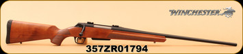 "Used - Winchester - 30-06Sprg - XPR Sporter - Grade 1 walnut/matte blued finished receiver/barrel, 24"", button rifled, free floating, target crown, M.O.A. trigger system"