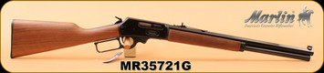 "Marlin - 45-70Govt - 1895CBA - Lever Action Rifle - American Black Walnut/Blued Finish, 18.5"" tapered octagon barrel, 6 round tubular magazine, Adjustable Sights, S/N MR35721G"