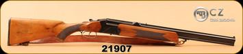 "Used - CZ/BRNO - 12Ga/2.75""/24.5""/308 - 584-53 Mod 3 Combo - Wd/Bl, c/w Zeiss Diatal-ZA 6x42, German Reticle - Black hard case"