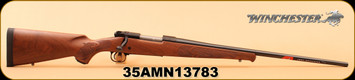 "Winchester - 325WSM - Model 70 Featherweight - Short-action - Satin finished Grade I walnut stock with cut checkering/Polished Bluing, 24"" barrel ,Schnabel forend, M.O.A. trigger system, S/N 35AMN13783"