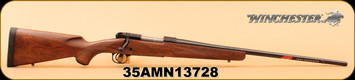 "Winchester - 325WSM - Model 70 Sporter - Short-action - Grade I walnut stock with cut checkering/Brushed Polished Bluing, 24"" free floated barrel, M.O.A. trigger system, S/N 35AMN13728"