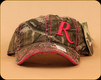 Remington - Ladies Hat - Mossy Oak Pink Lettering