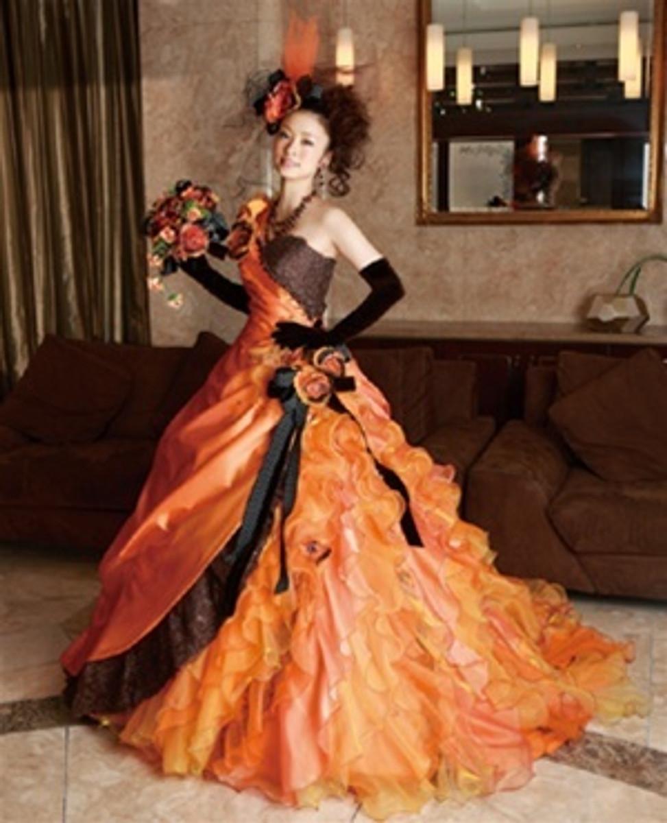 halloween wedding dress - Halloween Wedding Gown