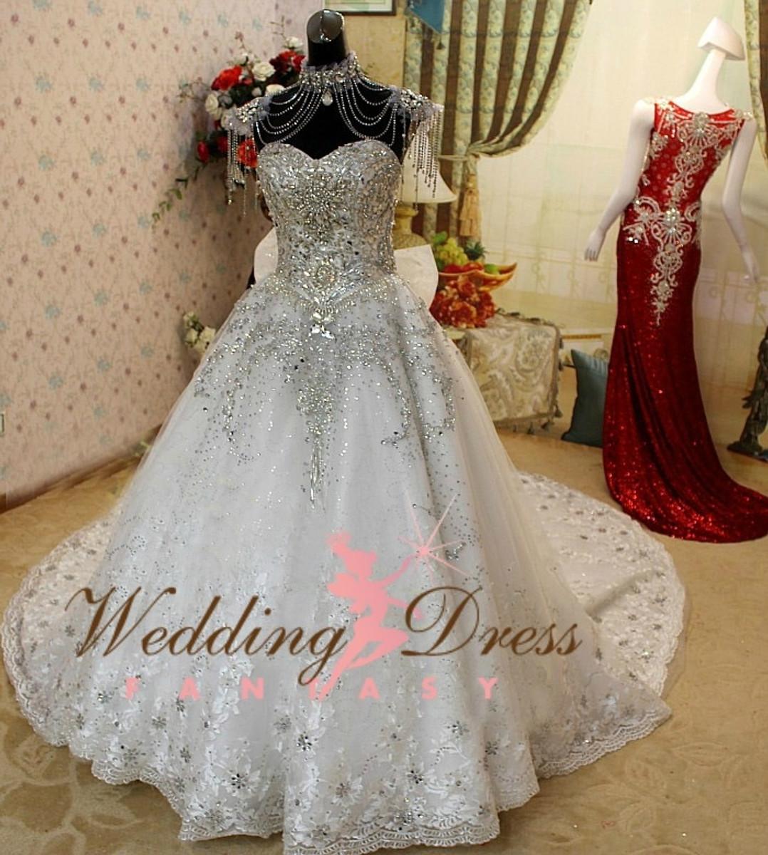 Gypsy Wedding Dress and Irish Traveller Wedding Dress
