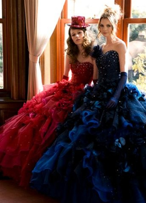Blue Wedding Dress - Available in Every Color 27