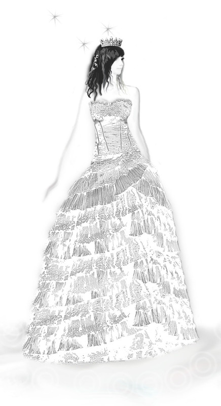 Custom Bridal Gown for Courtney H.