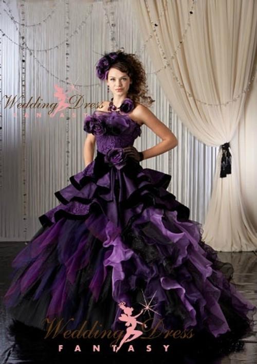 Purple Wedding Dresses
