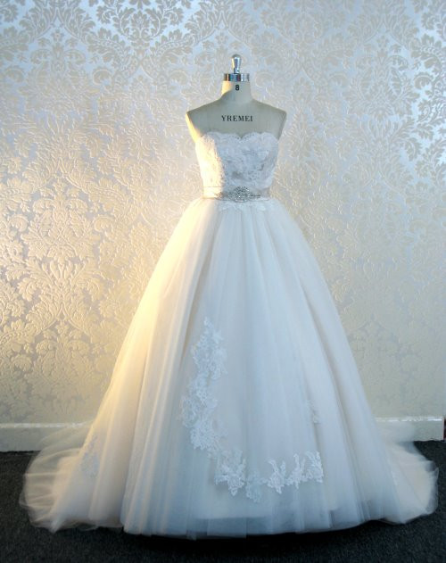 Designer inspired wedding dresses for Fairytale inspired wedding dresses