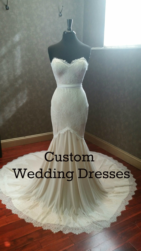 Custom Bridal Gown for Jessica G