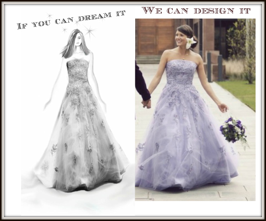 Custom wedding dresses and design your own wedding dress for Custom wedding dress designers
