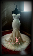 Mermaid Stretch Wedding Dress