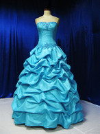 Blue Wedding Dress - Available in Every Color 2
