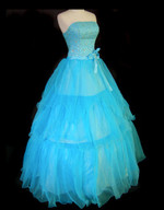 Blue Wedding Dress - Available in Every Color 5