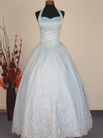 Light Blue Wedding Dress - Available in Every Color